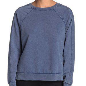 Z by Zella New blue pullover Raglan sweater medium